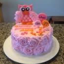 Coolest Owl Birthday Cake
