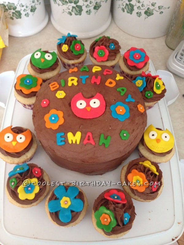 Cool Owl Cake