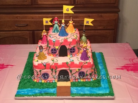Awesome Princess Castle Cake