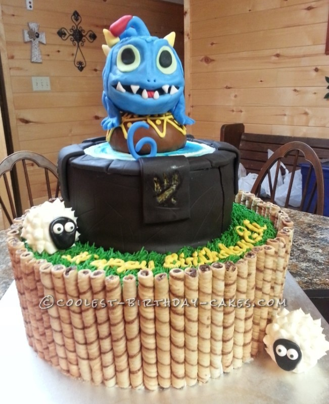 Awe Inspiring Coolest Homemade Skylanders Cakes Personalised Birthday Cards Veneteletsinfo