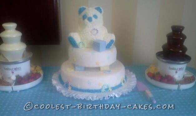 Baby Shower Bear Cake