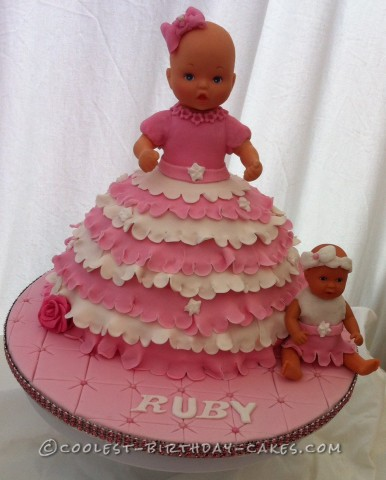 Sweet Baby Doll Cake