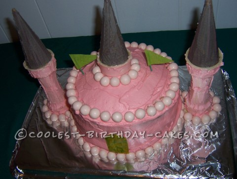 Coolest Sweetpea Beauty Veggie Tales Princess Castle Cake