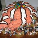 Cool Homemade Snake Cake for a Boy