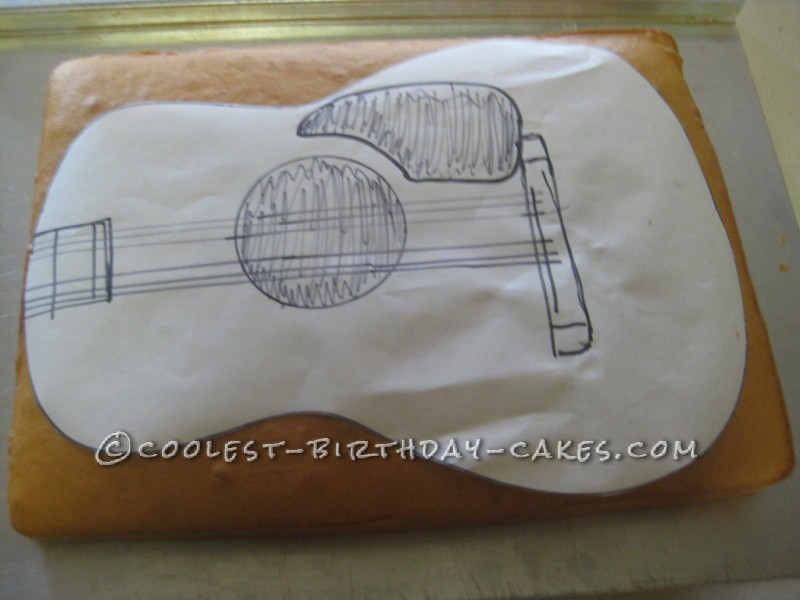 The Ultimate Guitar Cake for your Favorite Musician