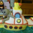 Coolest Yellow Submarine Birthday Cake