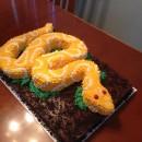 Coolest Snake Birthday Cake