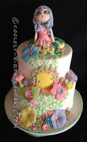 Coolest Fairyland Fantasy Cake