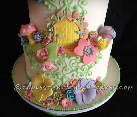 Coolest Fairyland Fantasy Cake