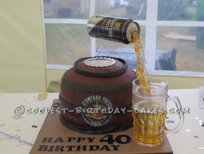 Fantastic Coolest Homemade Beer And Beer Coolers Cakes Funny Birthday Cards Online Overcheapnameinfo
