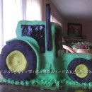 1st Birthday John Deere Tractor Cake