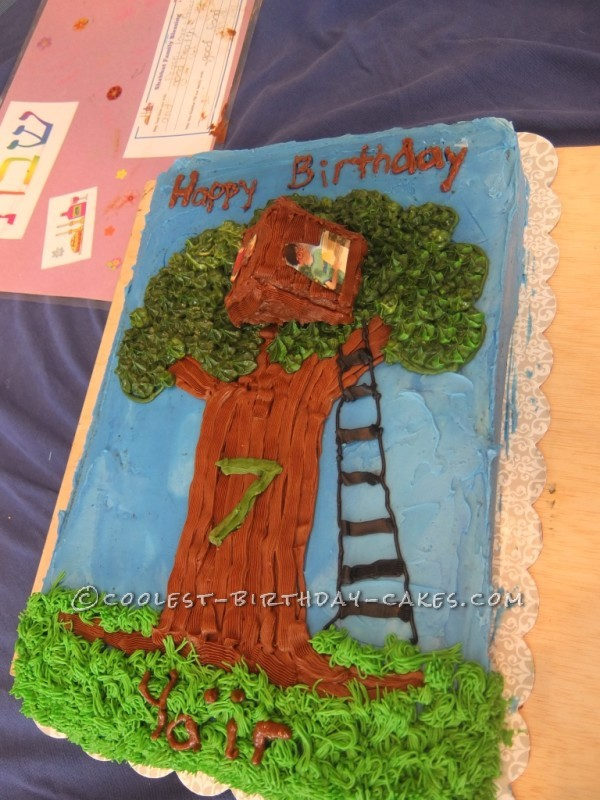 Magic Tree House Cake