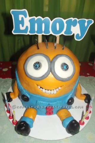 Cool Minions Birthday Cake