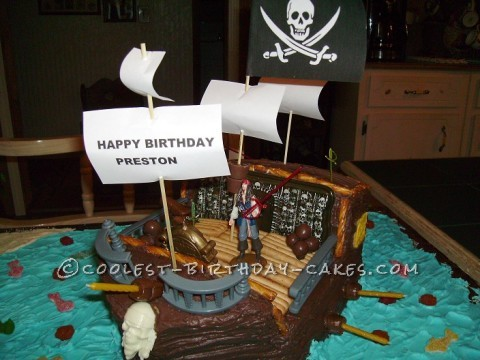 Cool Pirate Birthday Cakes for my Little Pirate