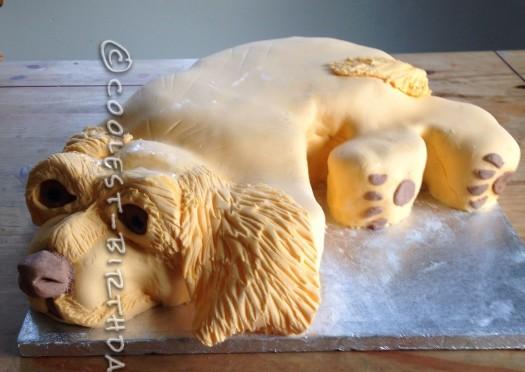 Cutest Working Cocker Spaniel 8th Birthday Cake