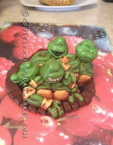 Amazing Teenage Mutant Ninja Turtles Birthday Cake