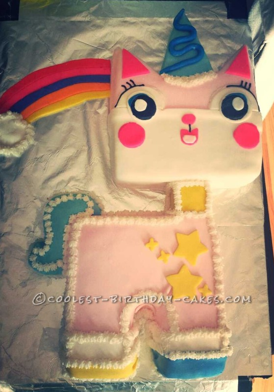 Coolest Unikitty LEGO Cake!