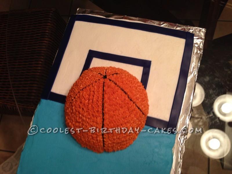 Awesome Basketball Cake