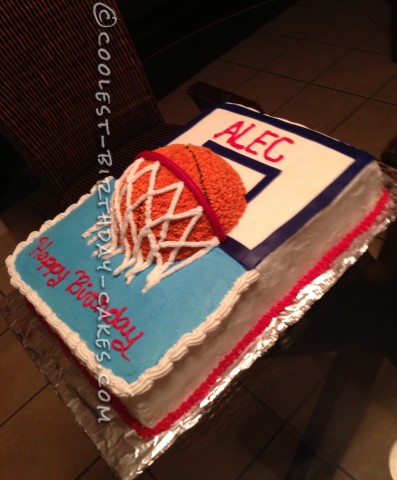 Awesome Basketball Cake