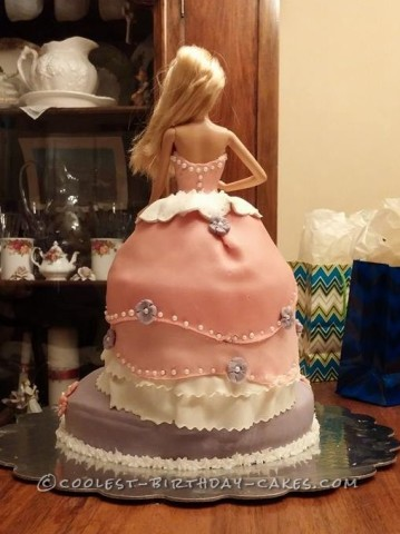 Cool Barbie Doll Cake