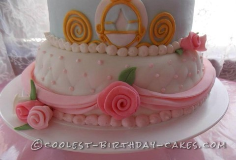 Swell Beautiful Princess Cake For A 2 Year Old Girl Personalised Birthday Cards Arneslily Jamesorg