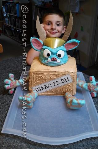 Coolest Boxtrolls Cake