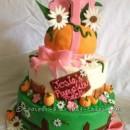 Coolest Homemade Pumpkin Patch Cake