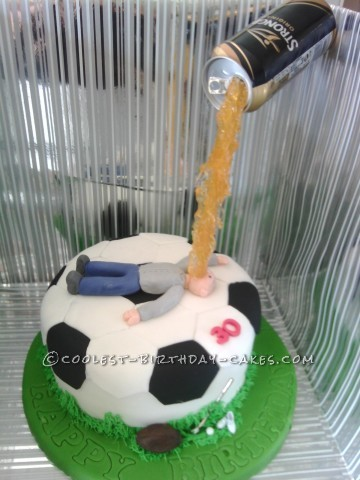Coolest Sportsman Gravity Cake