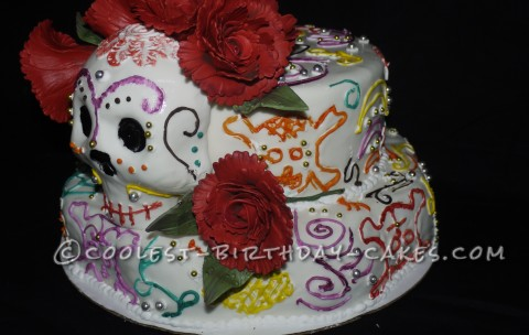Coolest Day of the Dead Cake