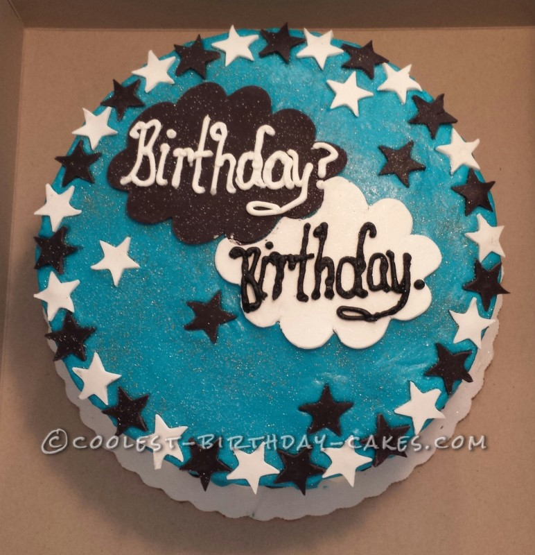 Coolest Fault in Our Stars Cake