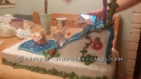 Cool Fairies and Waterslide Cake