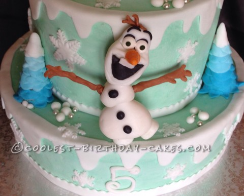 Cool 12 Coolest Frozen Birthday Cake Ideas For The Ultimate Frozen Funny Birthday Cards Online Unhofree Goldxyz