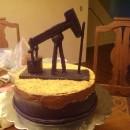 Cool Oil Pump Horsehead Cake