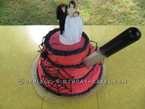 One of a Kind Divorce Cake