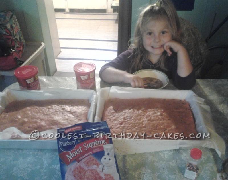 Sweet 5th Birthday Pink Unicorn Cake