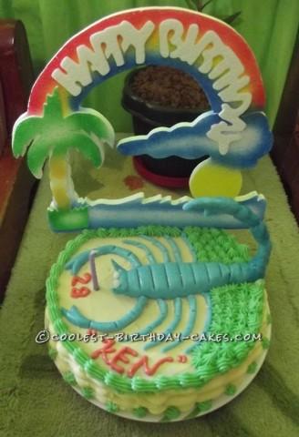 My Scorpion Cake