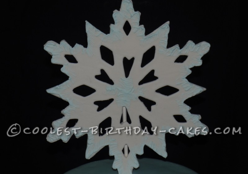 Coolest Frozen Theme Snowy Wonderland Cake