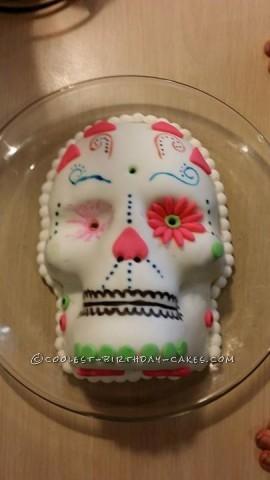 Cool Sugar Skull Cake
