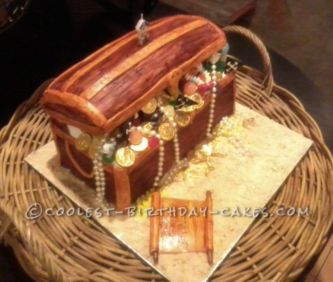 Coolest Treasure Chest Cake
