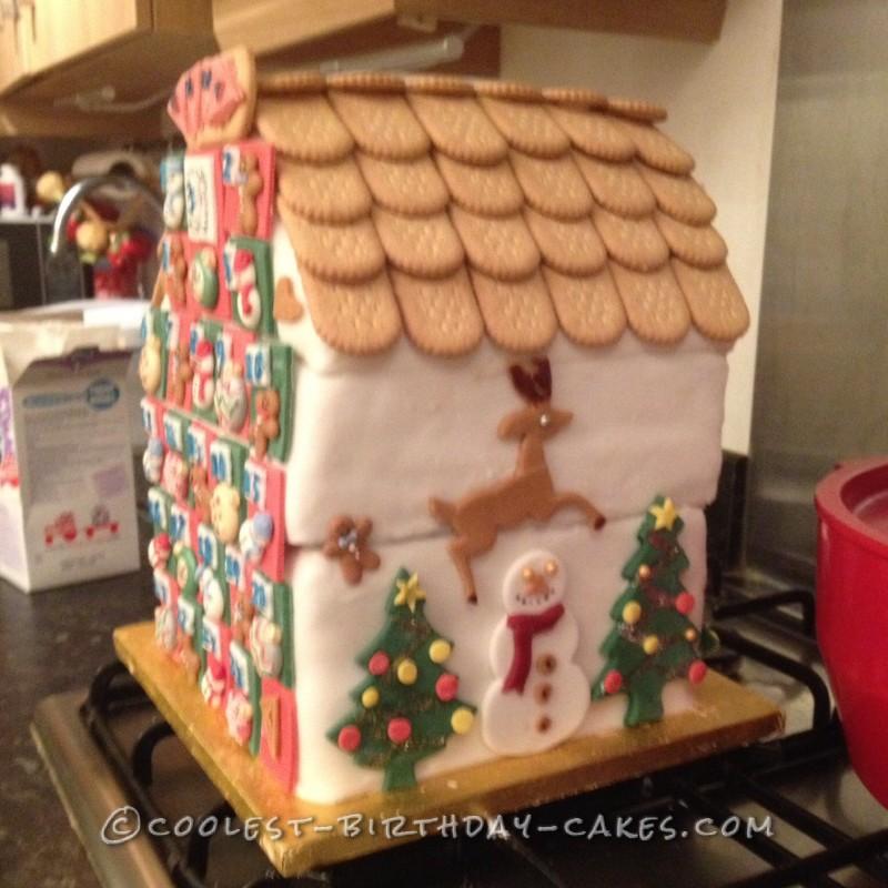 Christmas Advent Birthday Cake