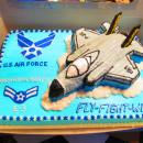 Fighter Jet Plane Cake
