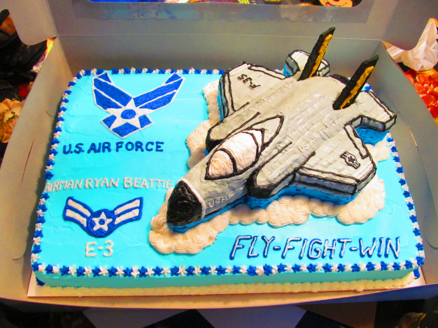 Coolest Us Air Force F 35 Cake