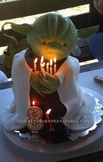 Coolest Yoda Cake Ever