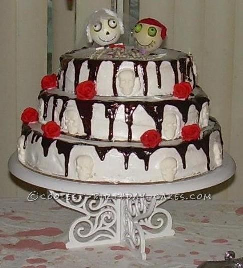 Halloween Anniversary Cake