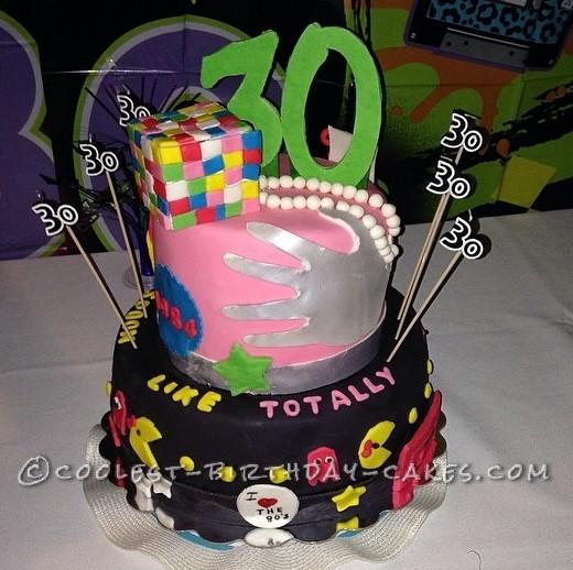 Coolest 1984 Retro Cake