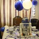 Coolest 4th Birthday R2D2 Cake