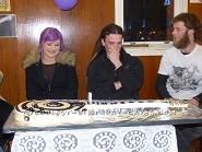 Surprise 21st Birthday Guitar Cake
