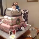 Coolest Travelers Luggage Wedding Cake