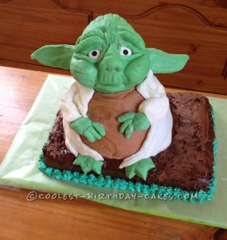 Coolest Yoda Cake