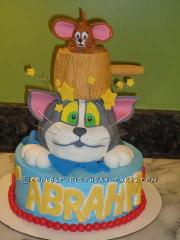 Coolest Tom and Jerry Cake